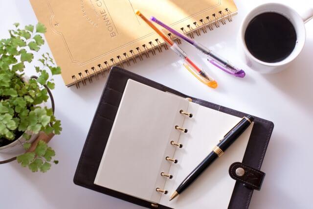 手帳のイメージ画像